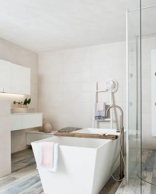 Het beach-gevoel in je badkamer