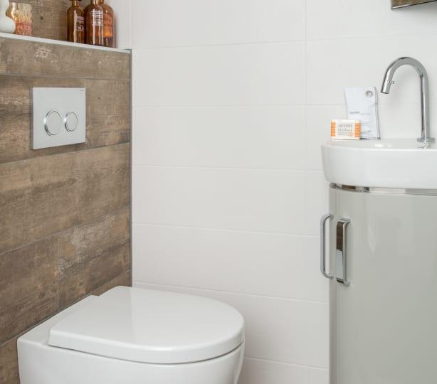 Een tijdloze toiletinrichting