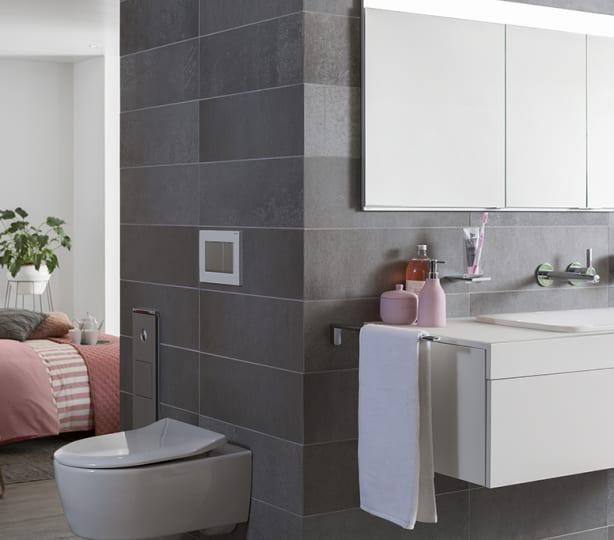 Een badkamer met de luxe van een hotel