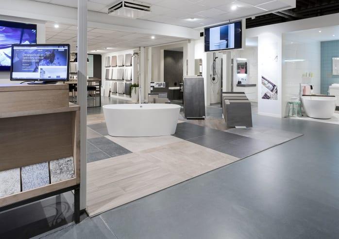 Baderie Horst - showroom