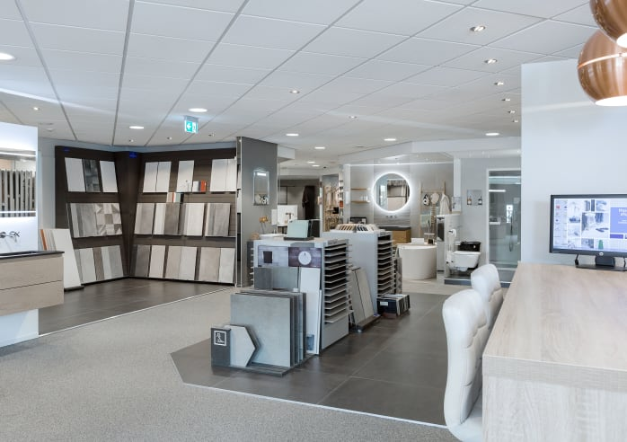 Baderie M&O Techniek - showroom