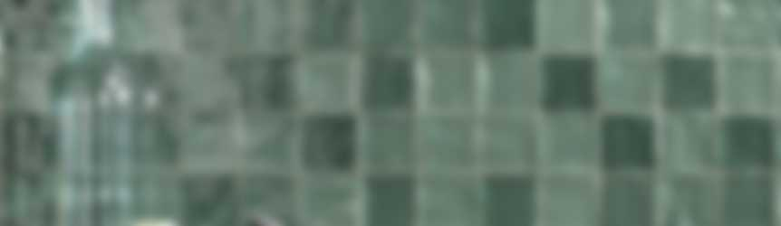 Baderie groene tegels