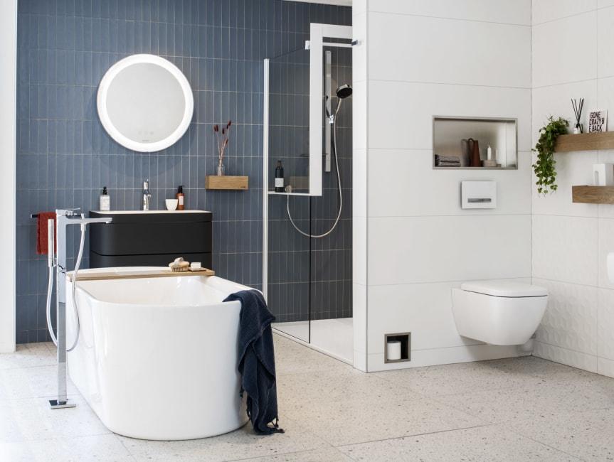 Tegels zijn sfeerbepalend in je badkamer