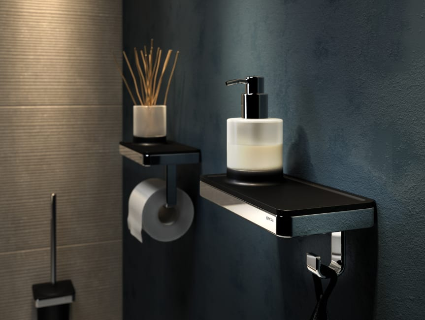 Baderie - Geesa frame toiletaccessoires