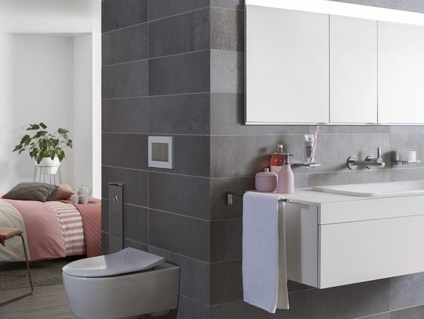 Inline badkamer en suite