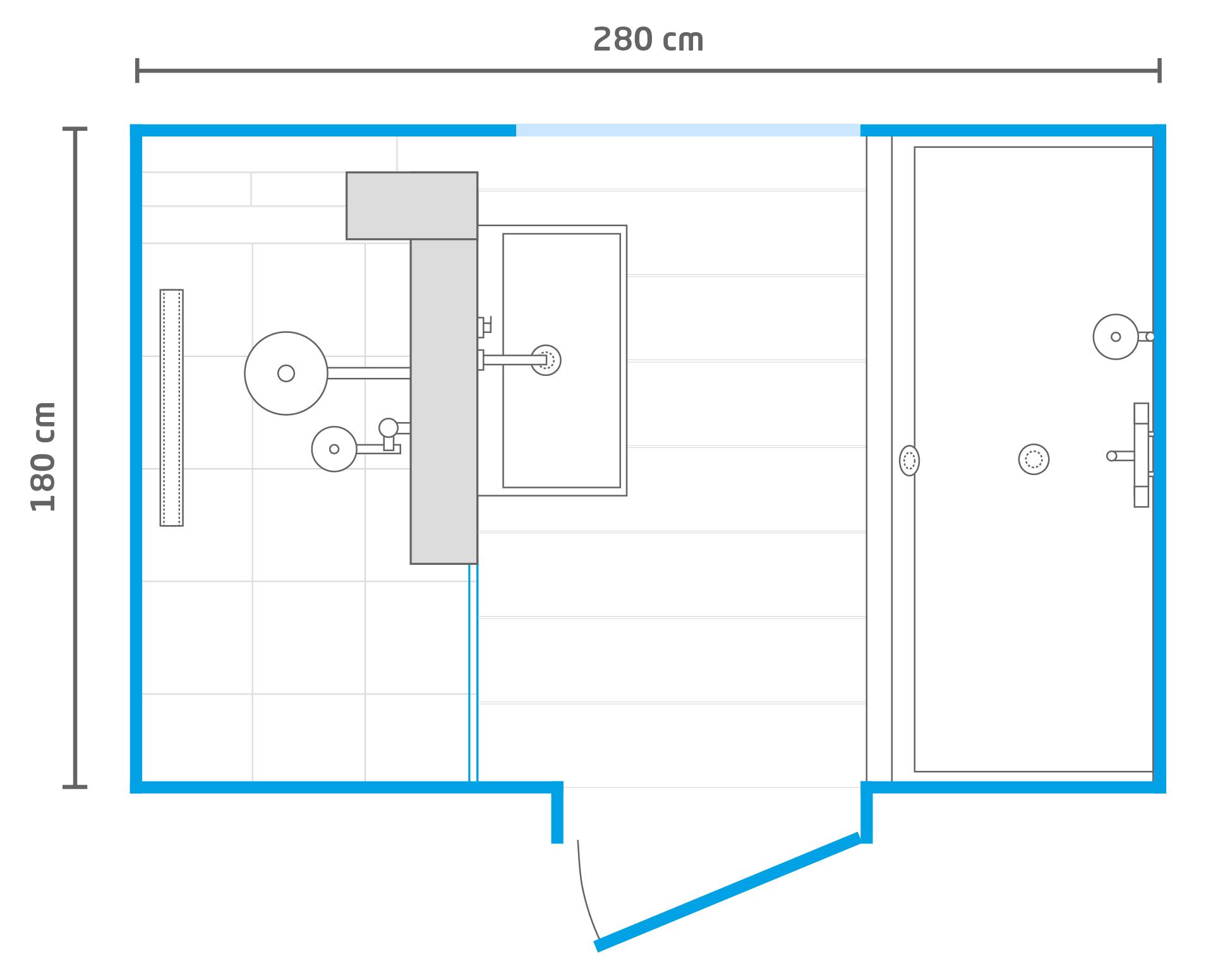 Afmeting Hangend Toilet.Ontwerp Op Maat