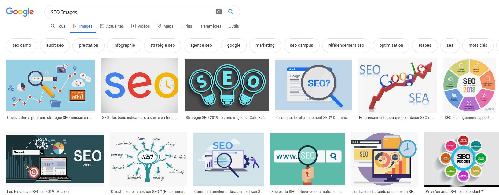 Comment optimiser votre référencement sur Google en travaillant vos images ?