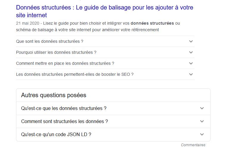 Données structurées : Le guide de balisage pour les ajouter à votre site internet