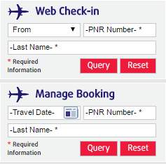 Web & other methods of Check In | Air Costa Boarding Rules
