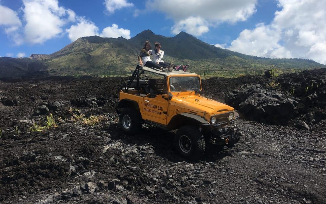 Black Lava Jeep Tour Mount Batur