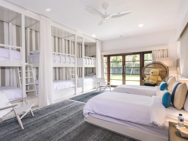 The Arsana Estate - Kids' room and bunk beds