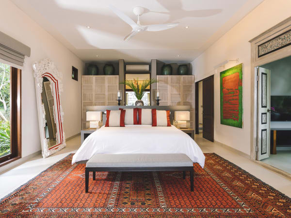 The Arsana Estate - Spacious bedroom setting