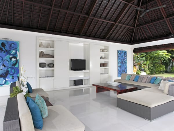 Villa Asante - Open air living area