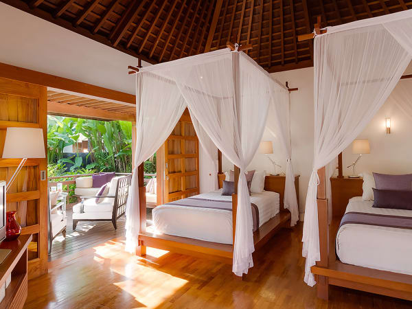 The Beji - Guests suite 5 twin beds