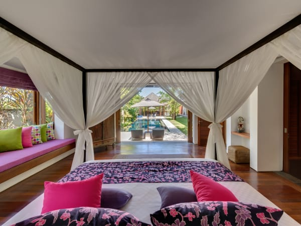 Bendega Rato - Master bedroom with pool view