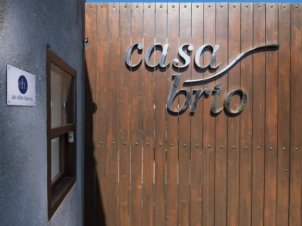 Casa Brio - Villa entrance door