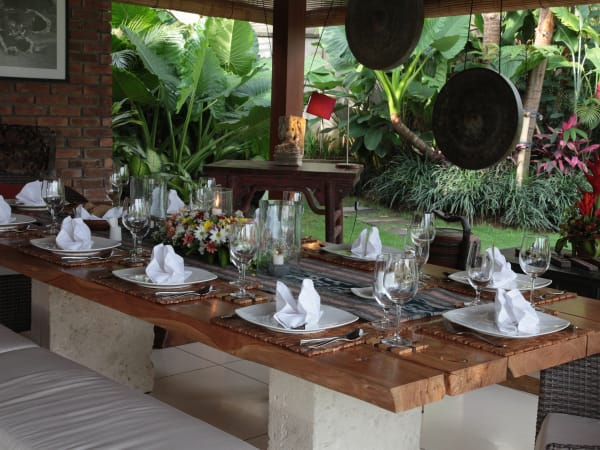 6. Villa Sati - Dining room