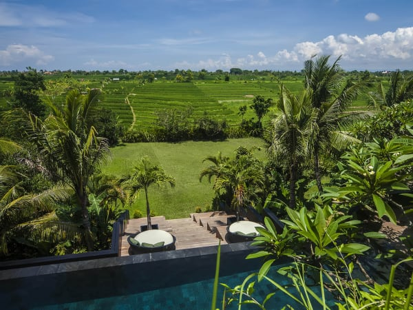 Villa Mana - Rice terrace outlook