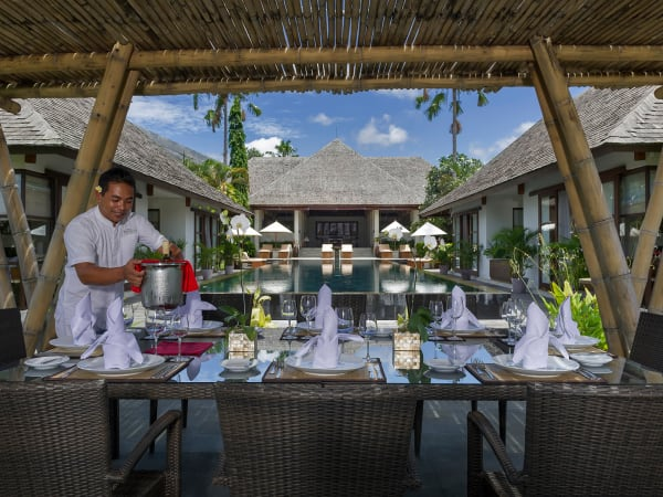 Villa Mandalay - Alfresco dining
