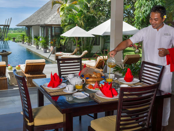 Villa Mandalay - Breakfast
