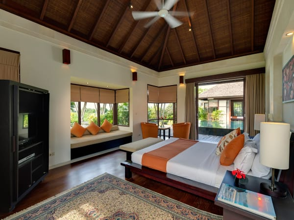 Villa Mandalay - Left side sleeping pavilion, second guest bedroom