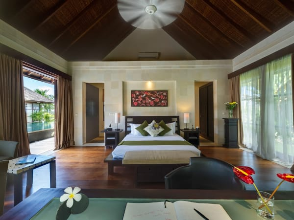 Villa Mandalay - Right side sleeping pavilion, first guest bedroom