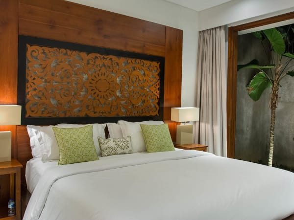 Seseh Beach Villa I - Guest bedroom three