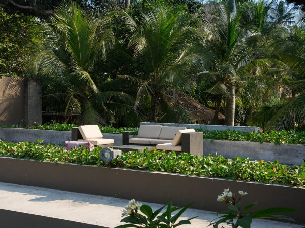 Seseh Beach Villa I - Rooftop seating