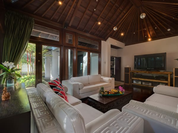 Villa Manis - The bungalow living area