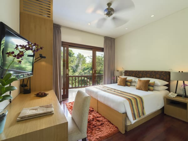 Villa Shinta Dewi Ubud - Guest bedroom layout