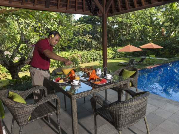Villa Shinta Dewi Ubud - Perfect way to start the day