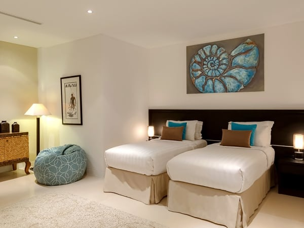 Grand Cliff Front Residence - Twin bed