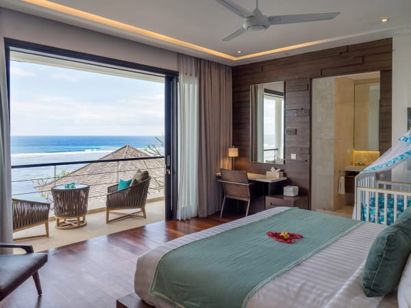 Grand Cliff Nusa Dua -  Master bedroom two outlook