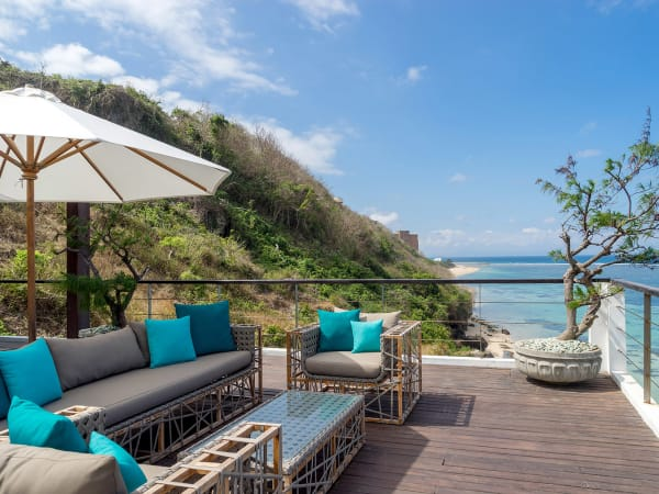 Grand Cliff Nusa Dua - Beautiful view from outdoor living area