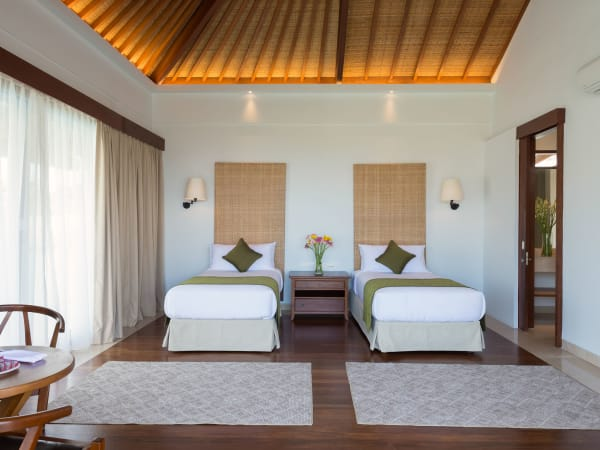 Pandawa Cliff Estate - Villa Marie - Upstairs twin bedroom