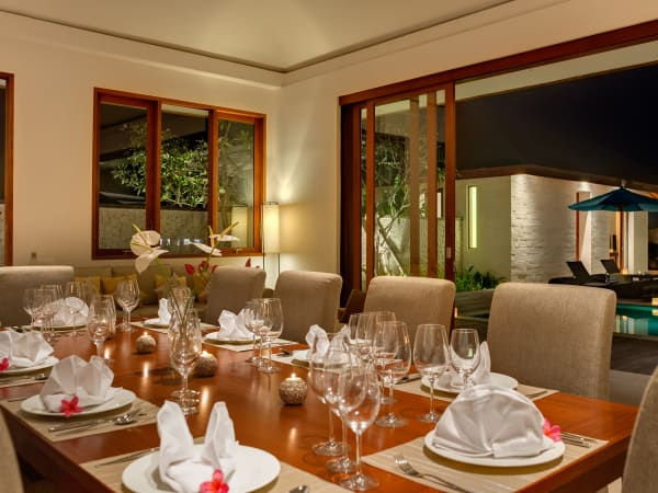 Pandawa Cliff Estate - Villa Marie - Dining