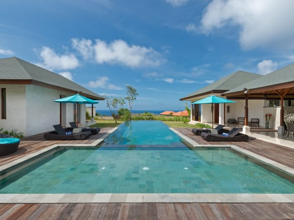 Pandawa Cliff Estate - Villa Marie - Pool view
