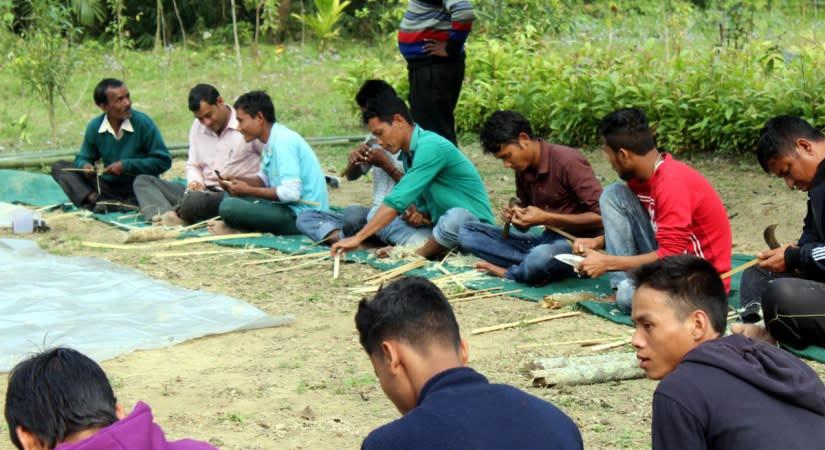 Bamboo training workshop