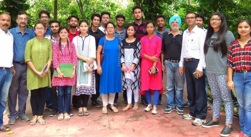 Tourism group with EHBA team