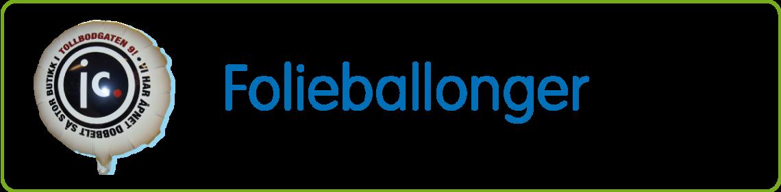 Folieballonger