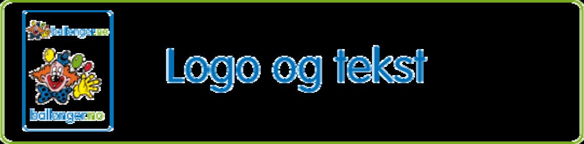 Logo og tekst