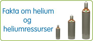 Fakta om helium og heliumressureser