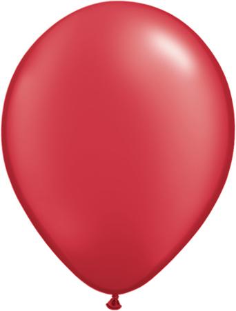 pearl ruby red perlemorsaktig rubinrød rød