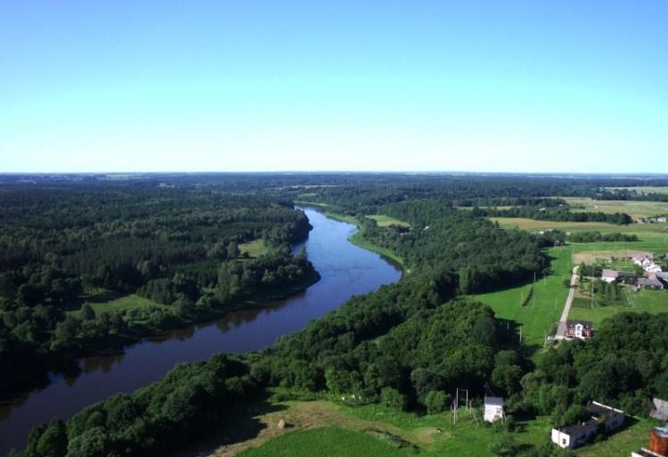 Litauen: Dorf Belvederis
