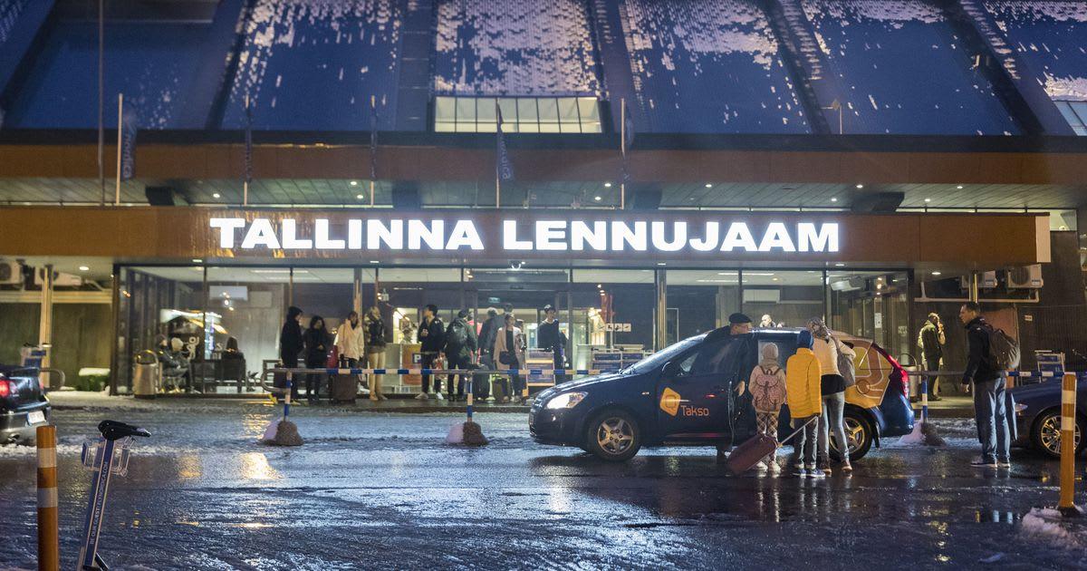 Tallinn, Flughafen