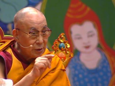 Dalai Lama in Riga