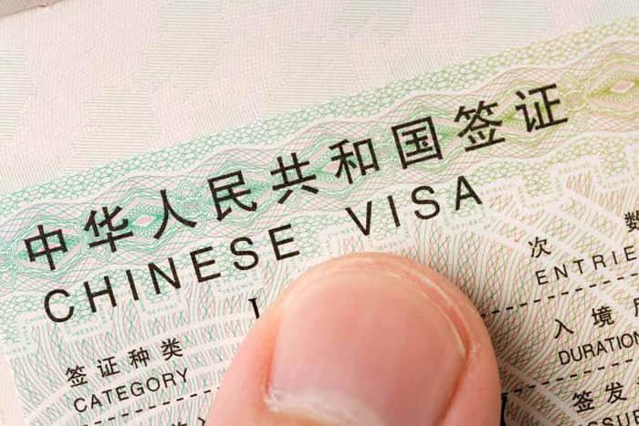 China Visa Application Form Pdf