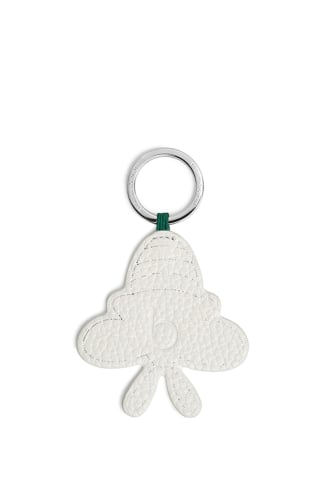 Leather Bee Keyring