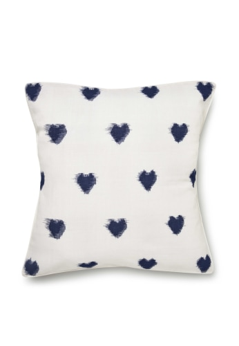 Ikat Heart Cushion (Small)