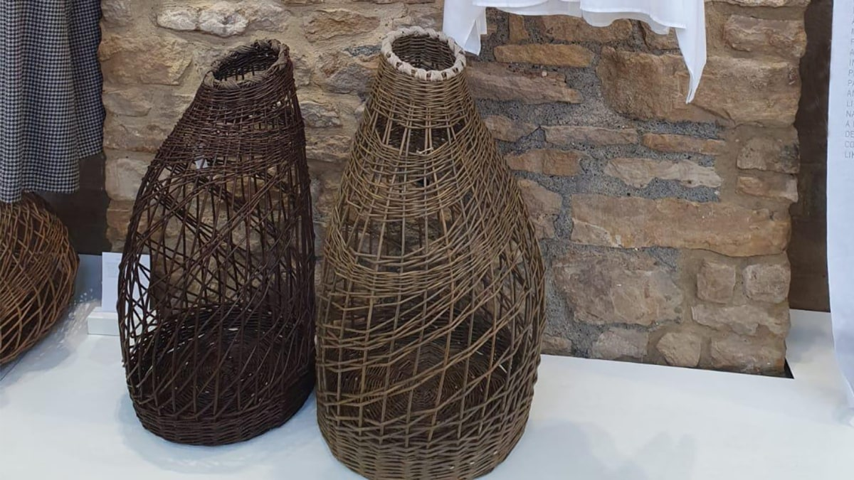 'Organic Forms' baskets at our Bamford Barn